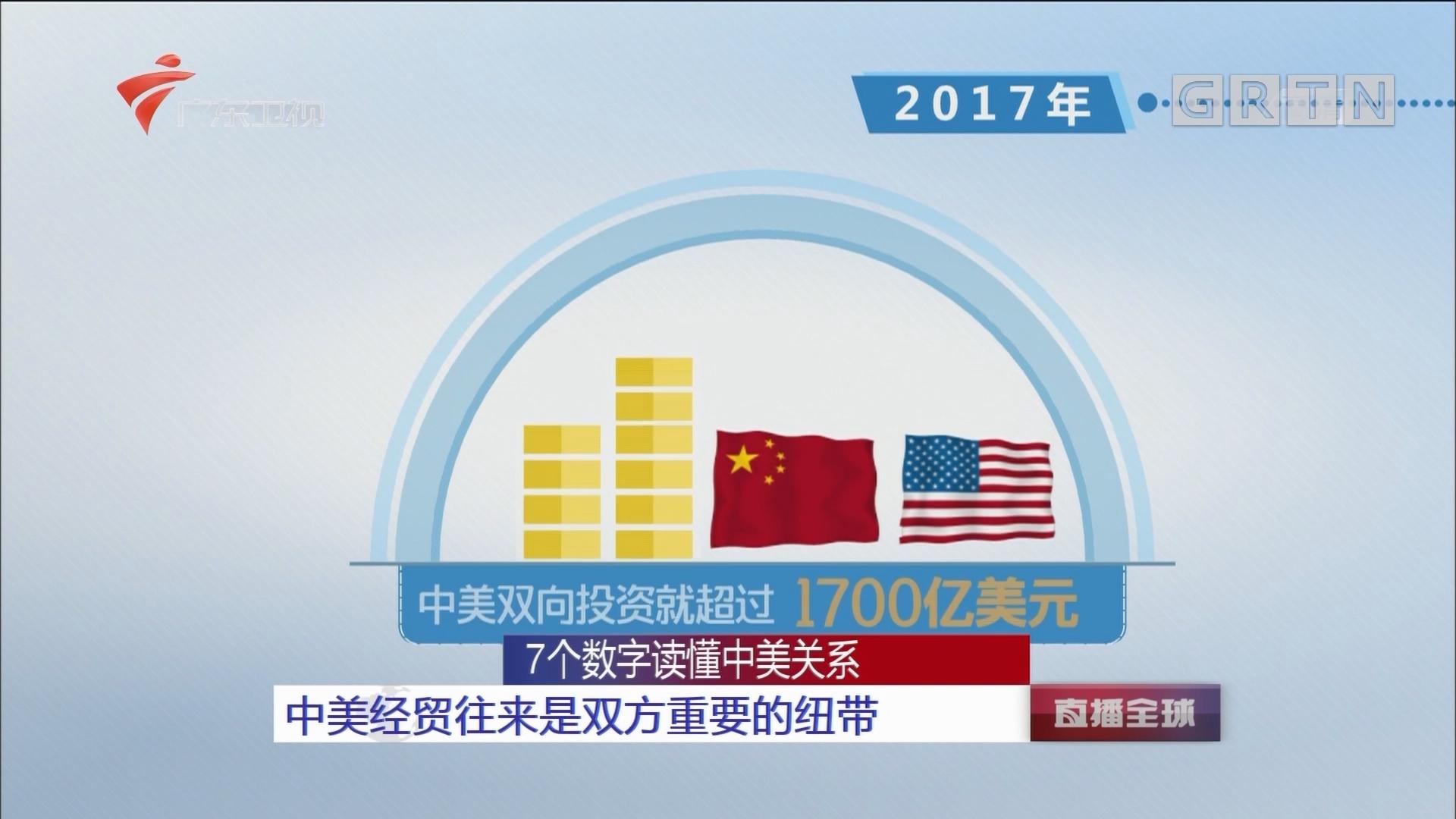 7个数字读懂中美关系:中美经贸往来是双方重要的纽带