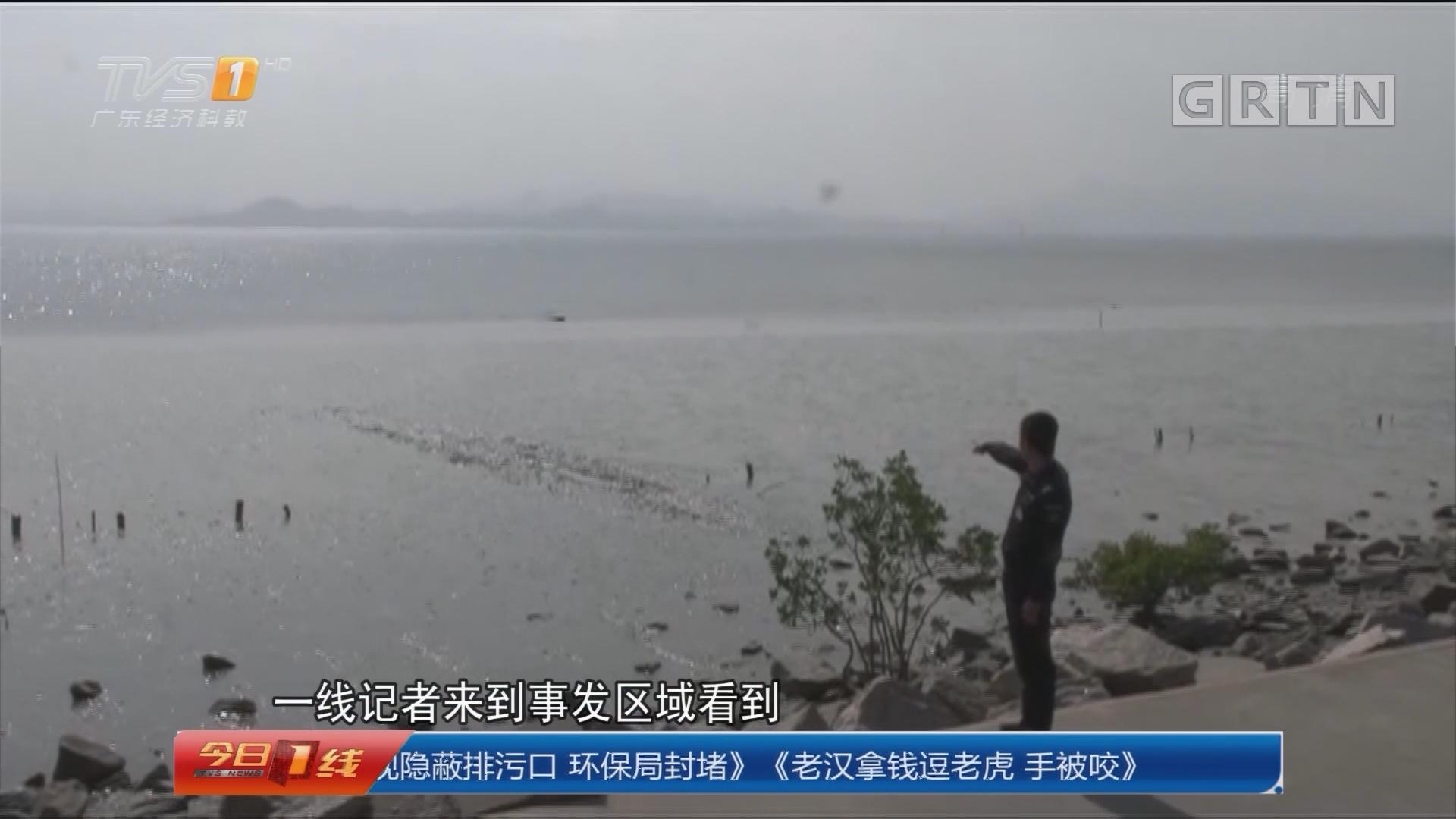 深圳南山:男子深陷淤泥无法自拔 众人急施援手