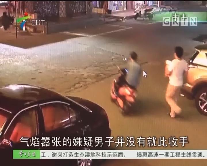 中山:拍板砖抢单身女 疑犯落入法网
