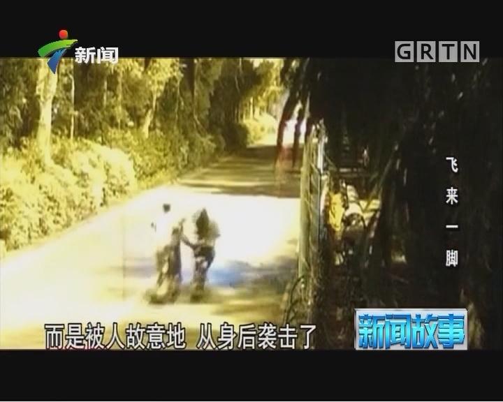 [2017-11-07]新闻故事:飞来一脚
