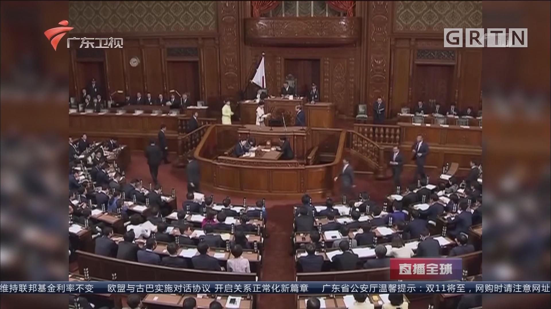 安倍晋三再次当选日本首相:高票当选 内阁不变