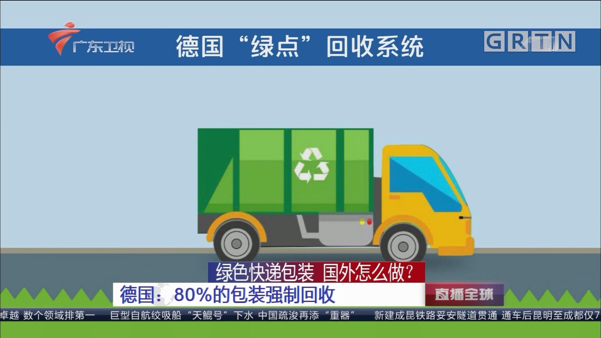 绿色快递包装 国外怎么做? 德国:80%的包装强制回收