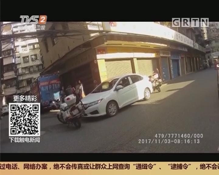 江门:司机路边沉睡不醒 原来是醉驾!