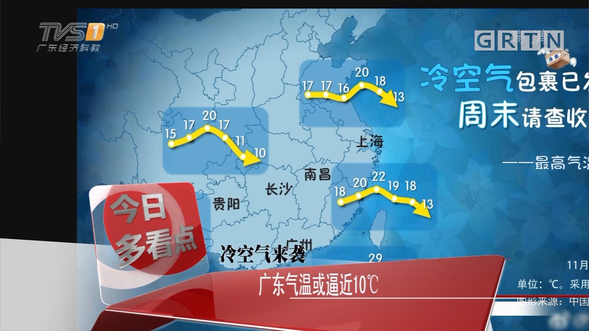 冷空气来袭:广东气温或逼近10℃