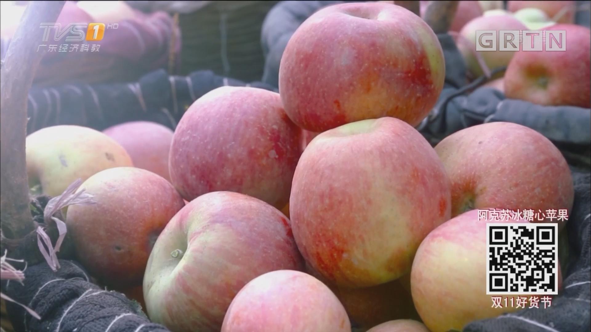 不是每一种苹果都叫阿克苏冰糖心苹果