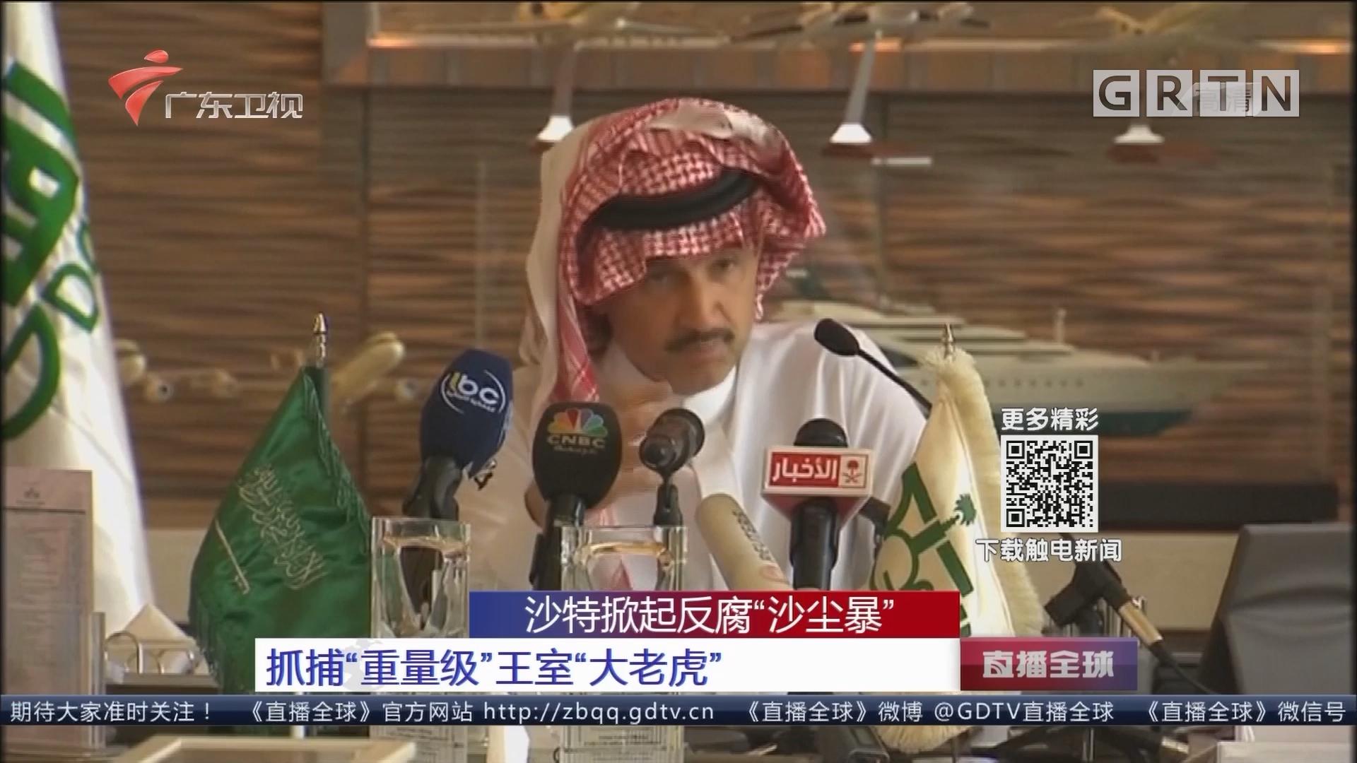 """沙特掀起反腐""""沙尘暴"""" 抓捕""""重量级""""王室""""大老虎"""""""