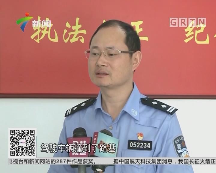 深圳:司机酒后驾驶 遇交警查车仓惶逃跑
