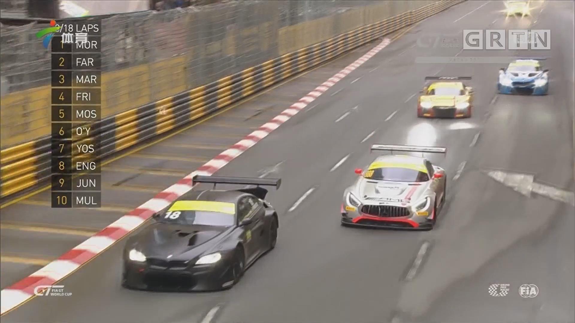澳门格兰披治GT世界杯 大马力超跑赛车咆哮东望洋