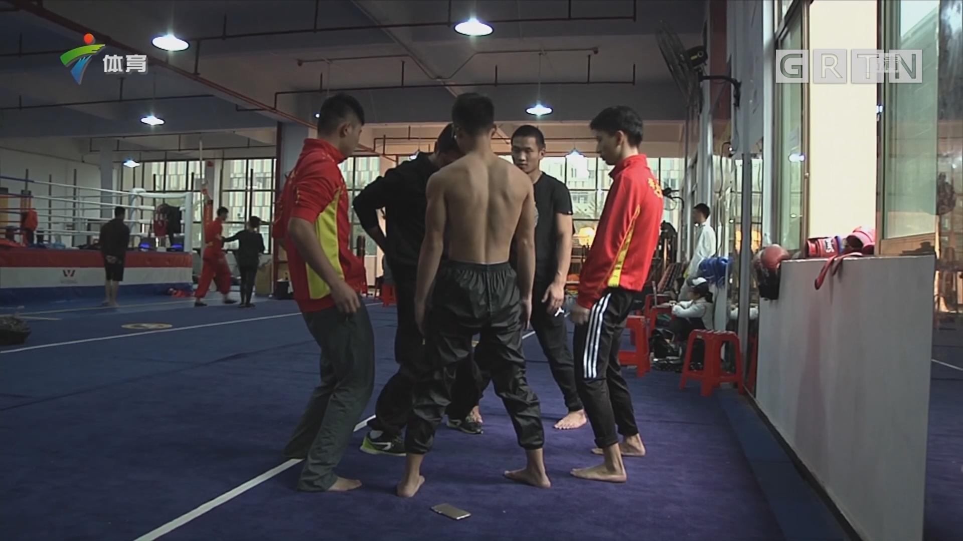 """选手积极备战 """"咏春擂""""一触即发"""