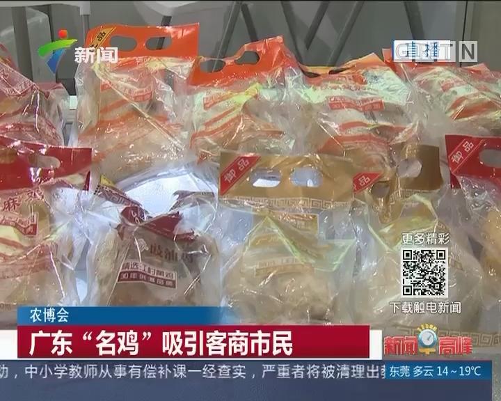 """农博会:广东""""名鸡""""吸引客商市民"""