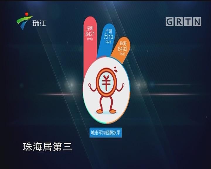 深圳平均月薪8421元 位居广东第一