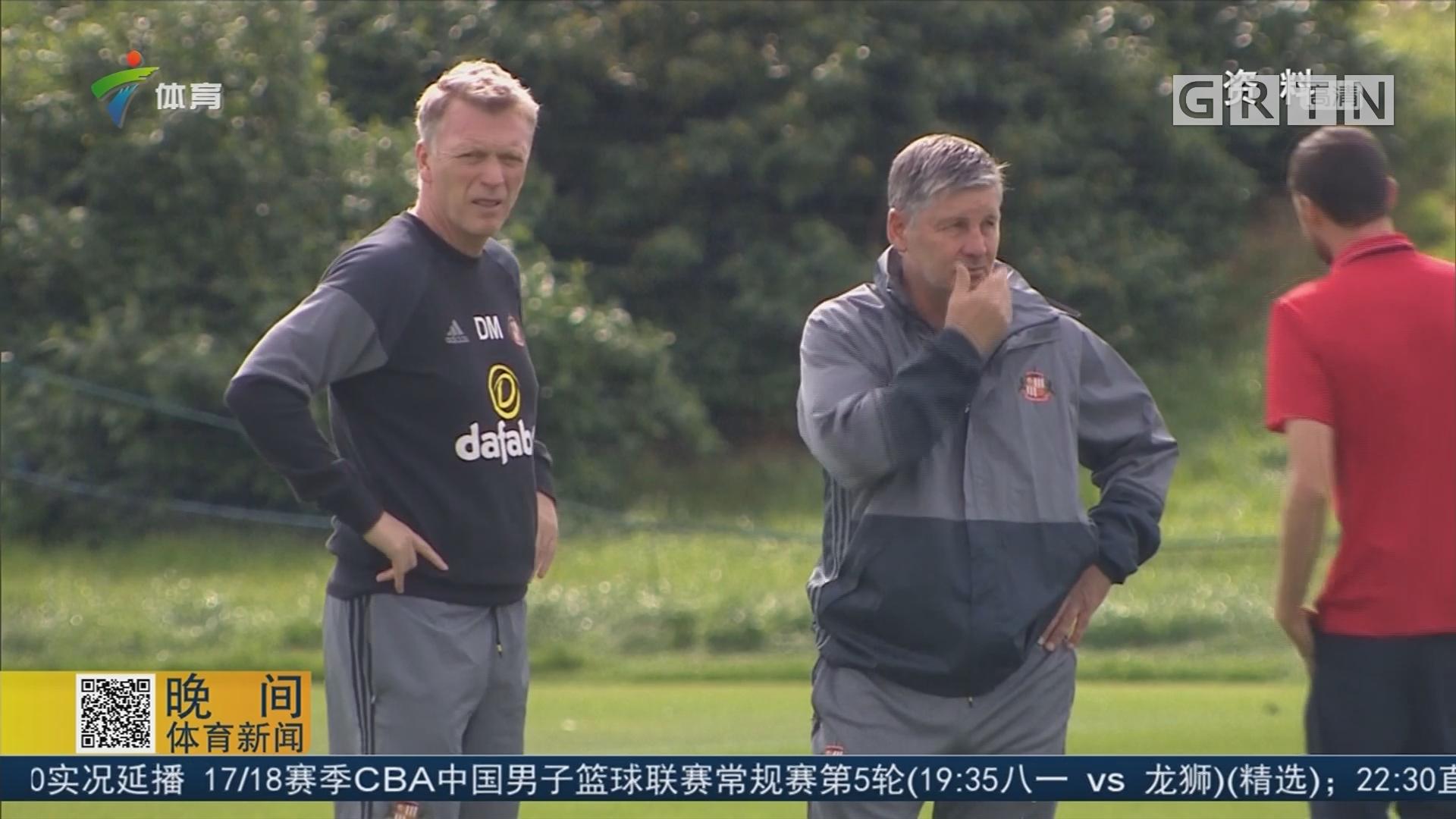 莫耶斯执教西汉姆联 只签6个月短合同