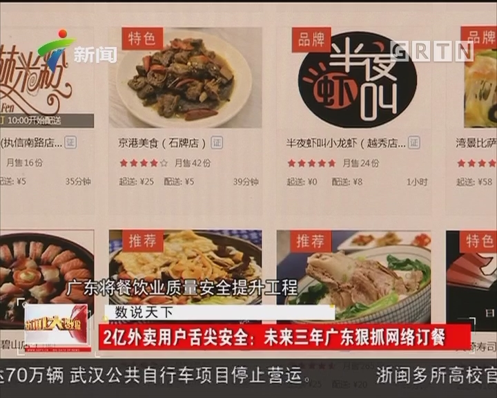 2亿外卖用户舌尖安全:未来三年广东狠抓网络订餐