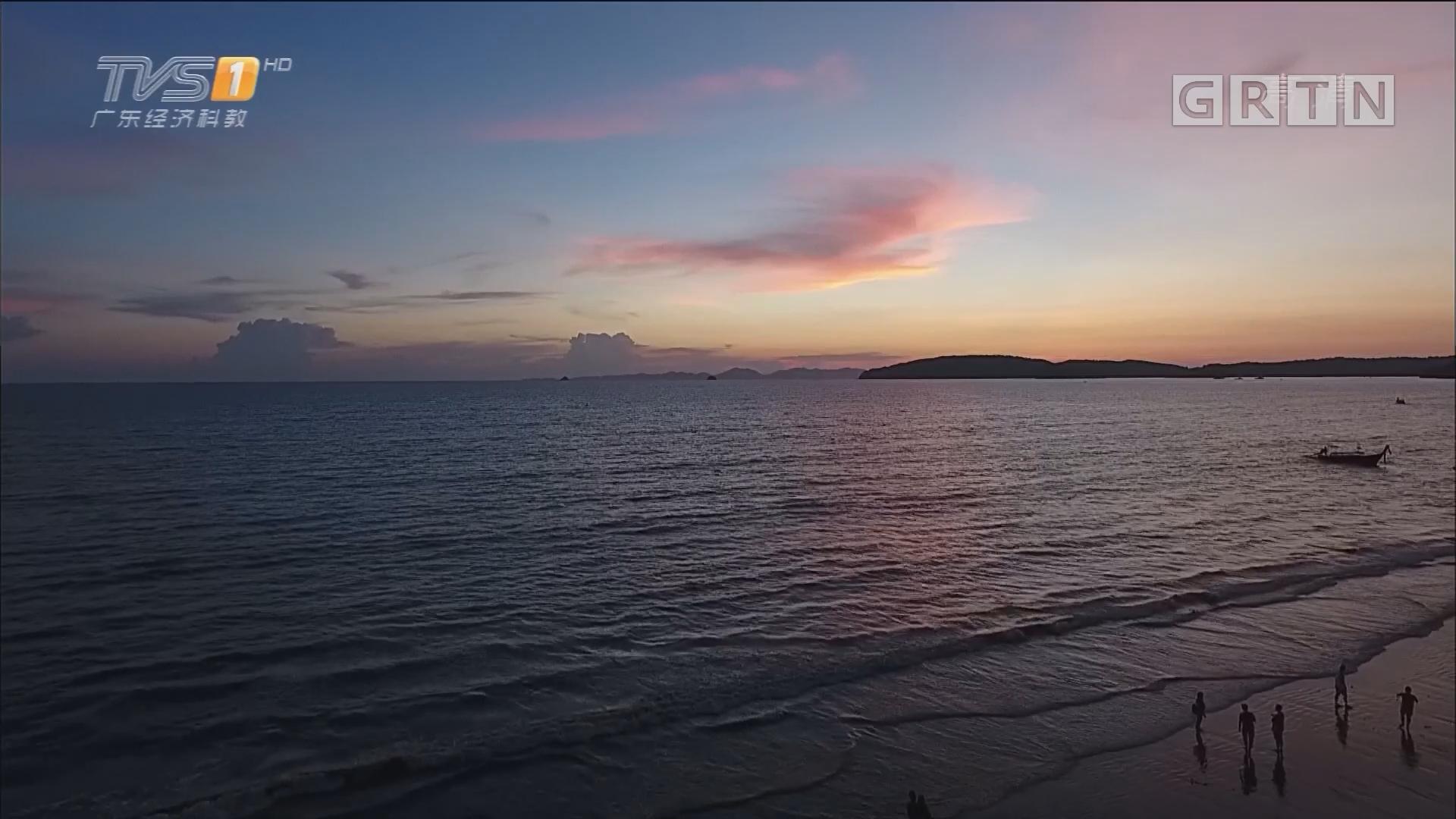 泰国甲米——奥南海滩