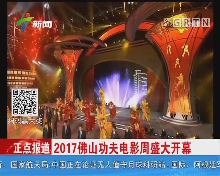 2017佛山功夫电影周盛大开幕