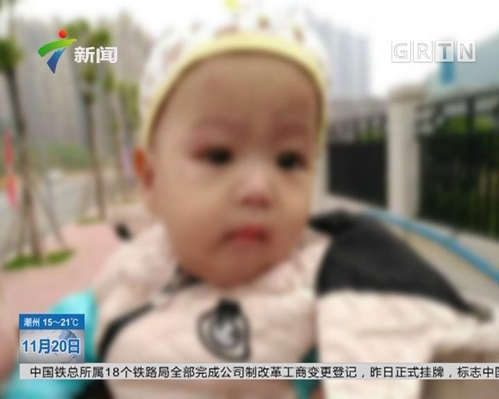 广州:男婴被弃婴儿车 街坊发现后报警