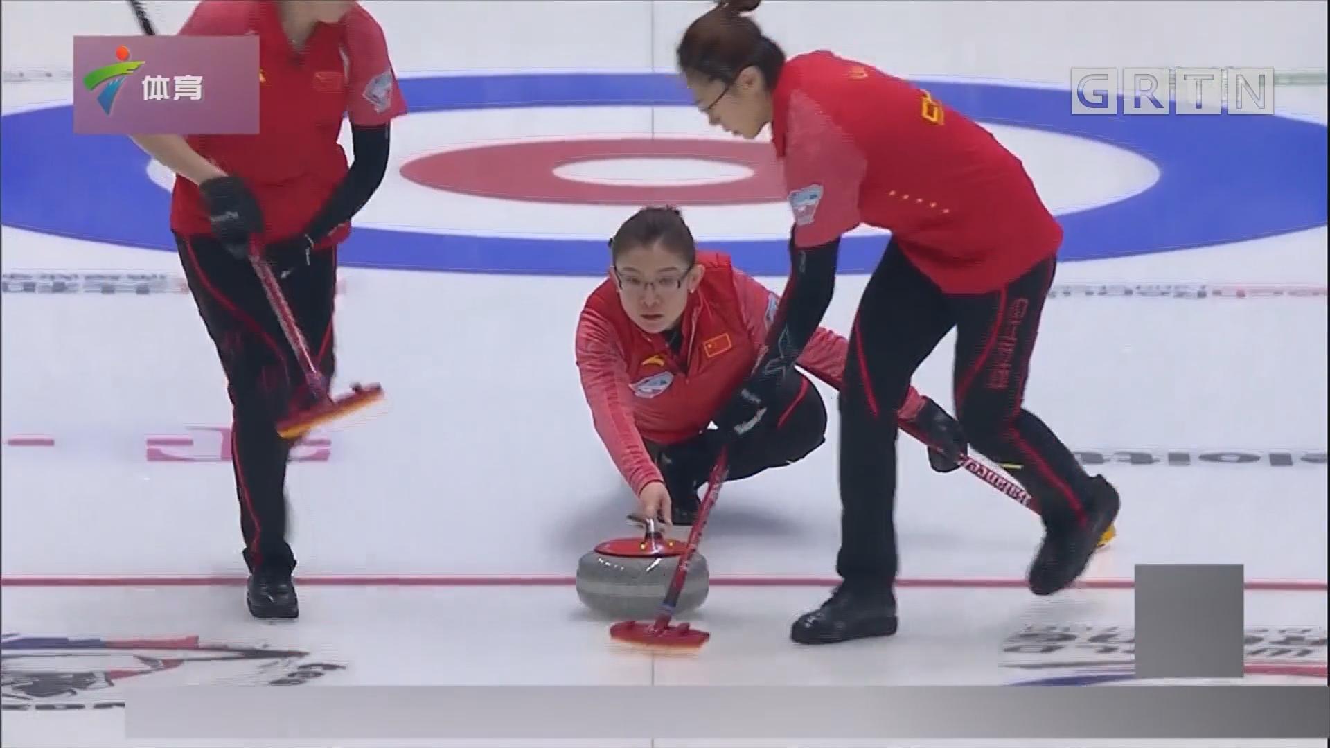 中国女子冰壶队晋级平昌冬奥会