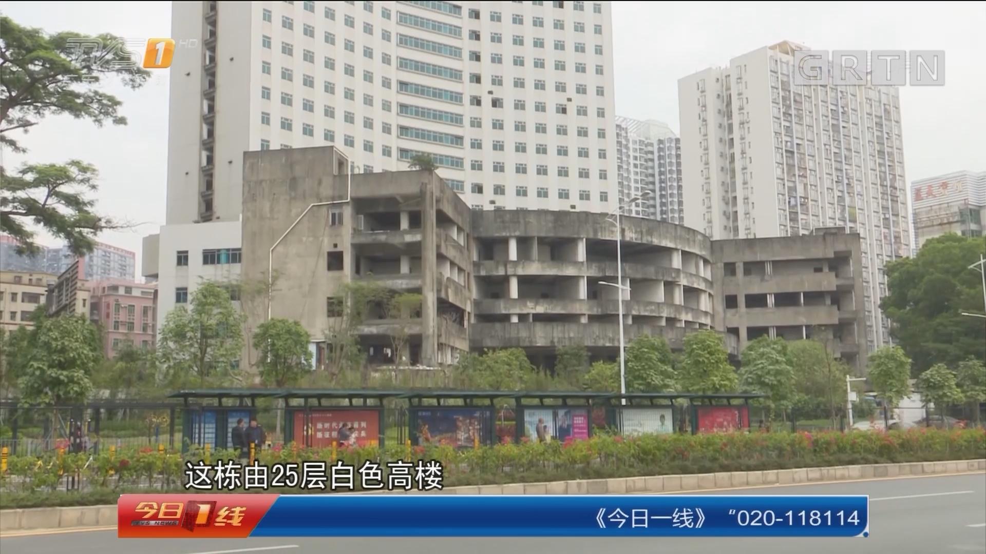 深圳:危险烂尾楼 有人拖家带口入住?