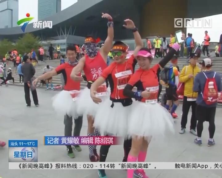 2017年深马:3万名跑友寒风中用跑步狂欢