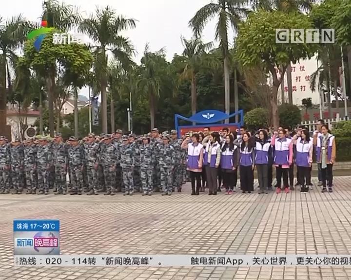广州天河区:送法进军营 正气铸军魂