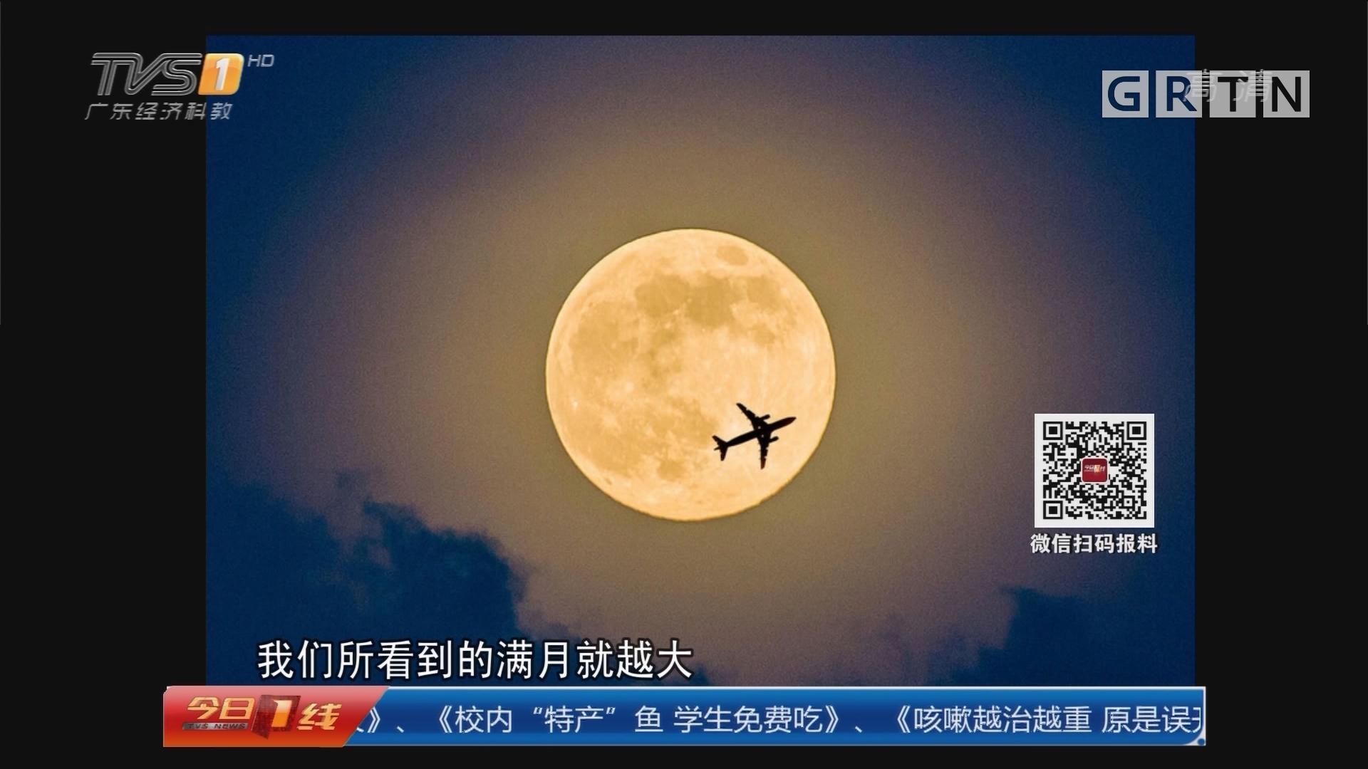 举头望明月:超级月亮 4号晚更大更圆