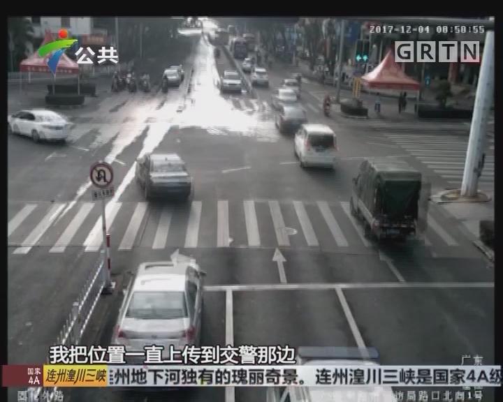 江门:病患紧急送医 交警开通生命绿道