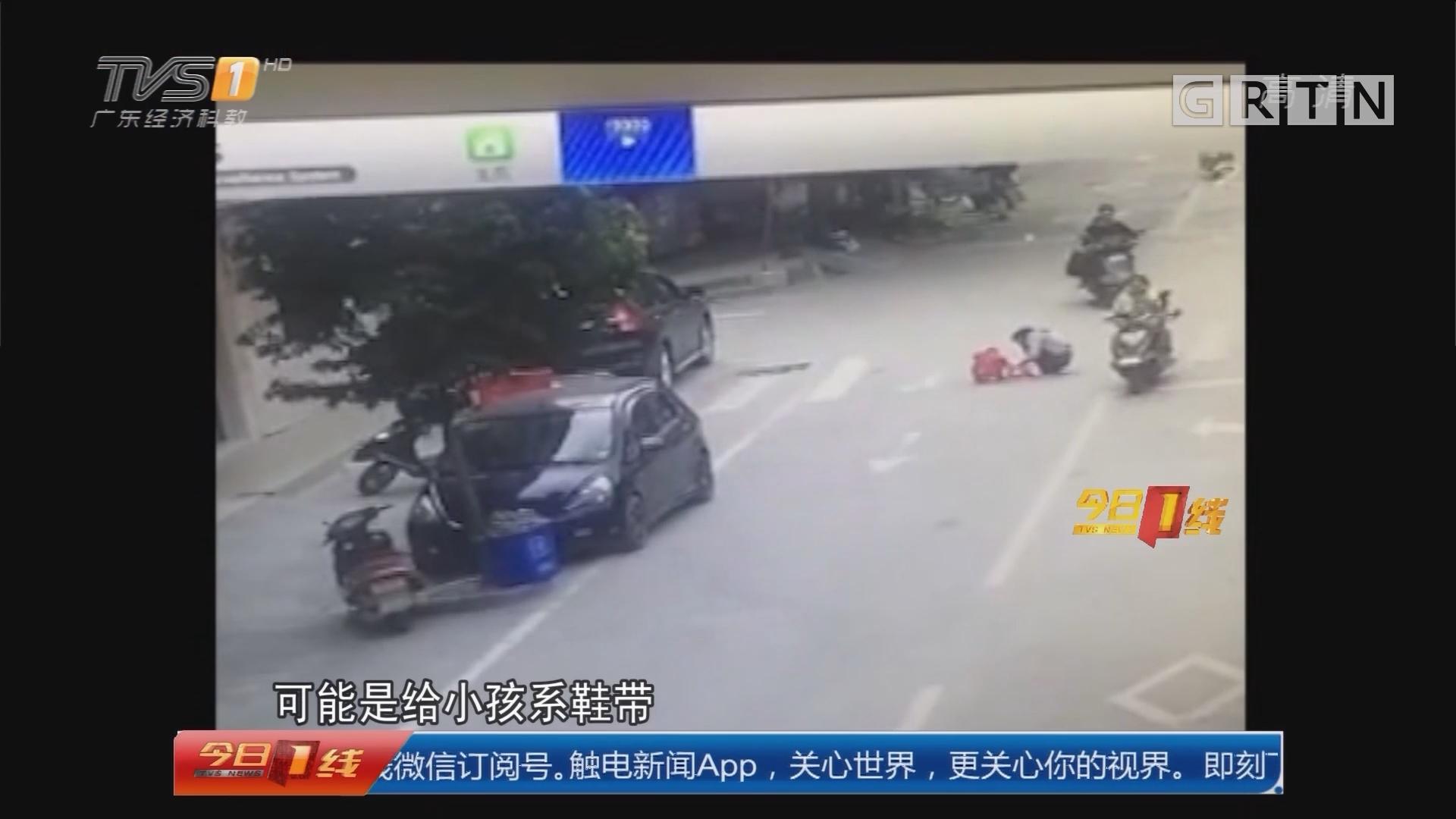 安全提醒:惠州龙门 路中间停留两人被撞 司机排除酒驾