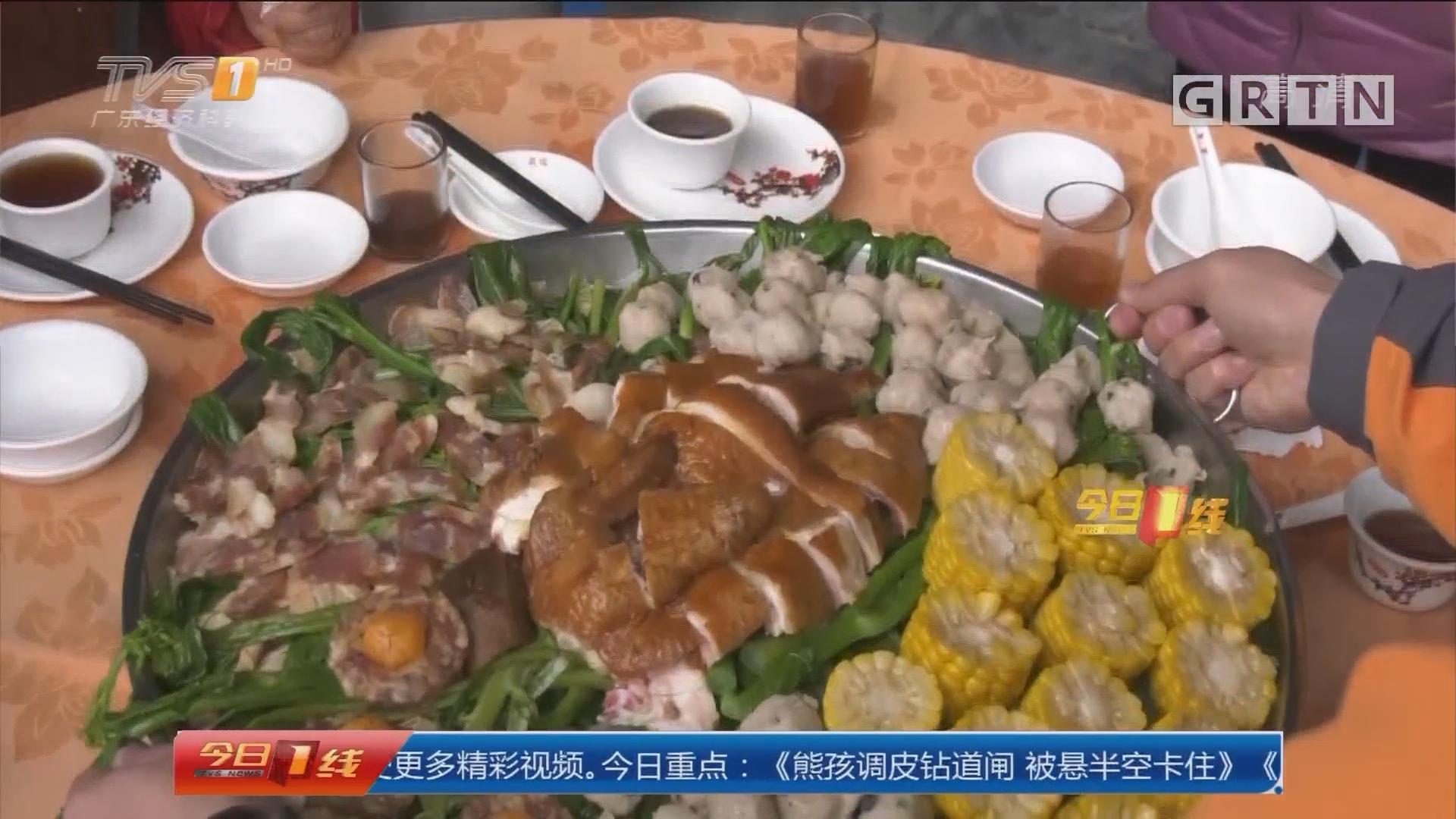 清远连州 菜心节:大盆菜 让食客大饱口福