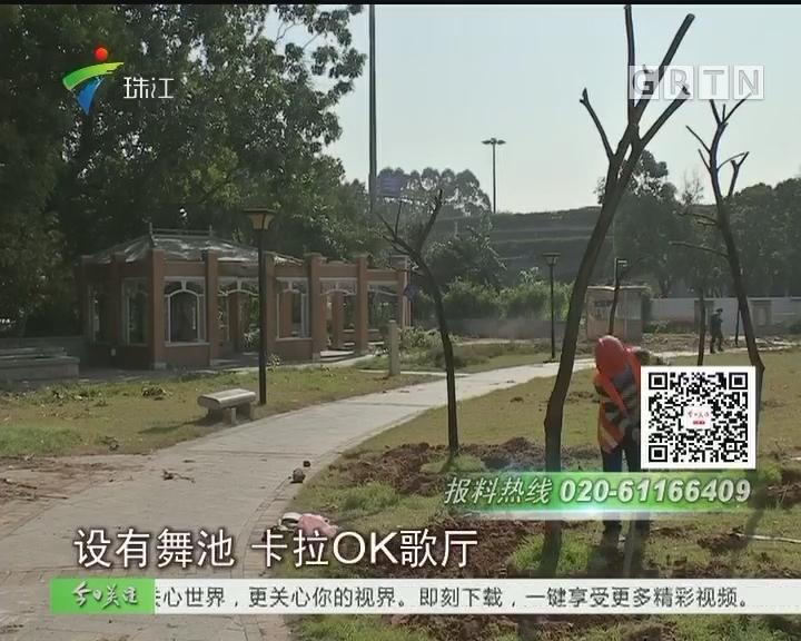 广州草暖公园暂别街坊