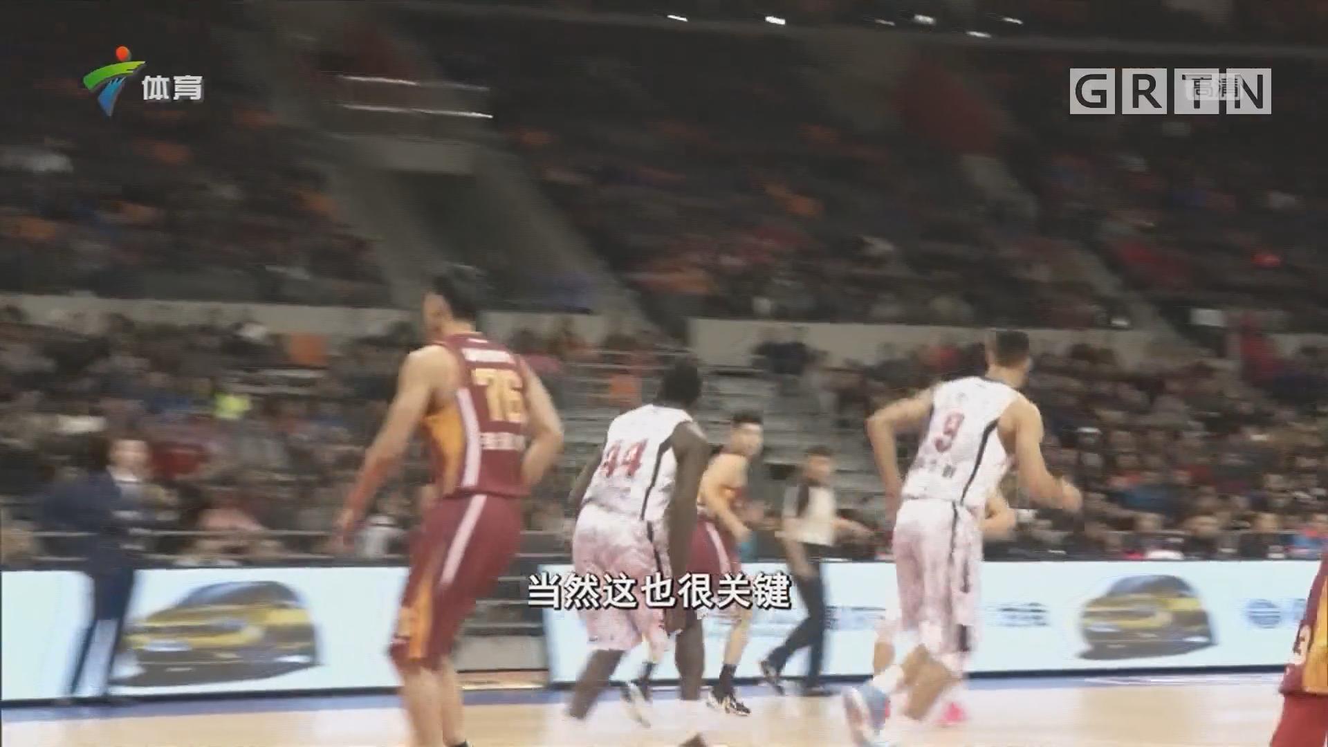 尼克尔森4得分赛季新高 广东主场2连胜