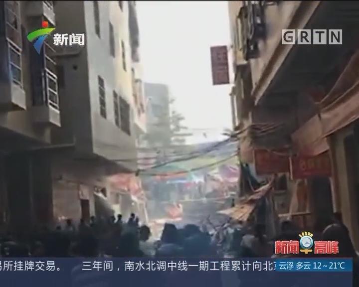 惠州:餐馆煤气爆炸 20余人受伤
