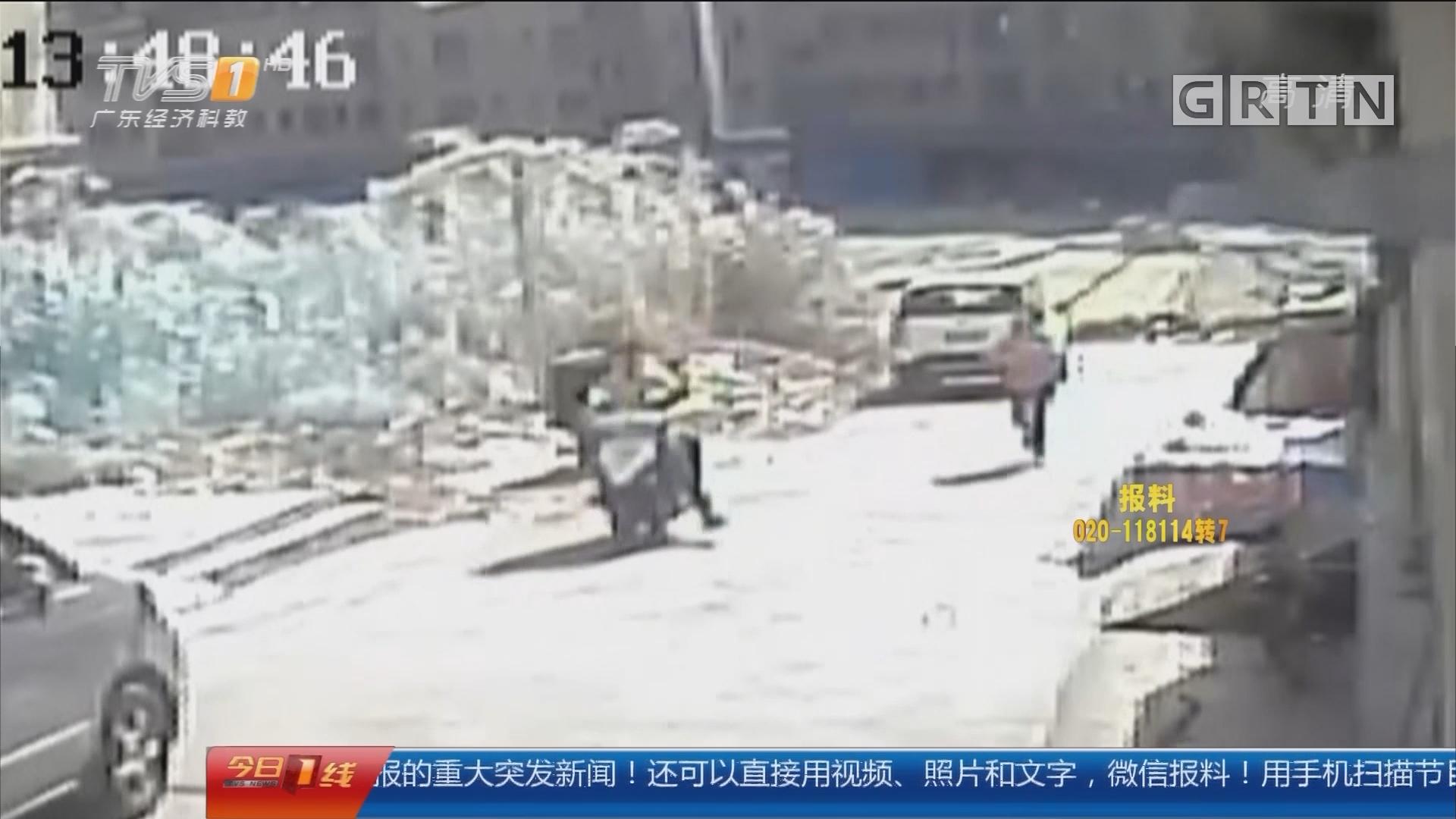 东莞清溪:劫匪一小时连抢两起 民警设伏抓捕