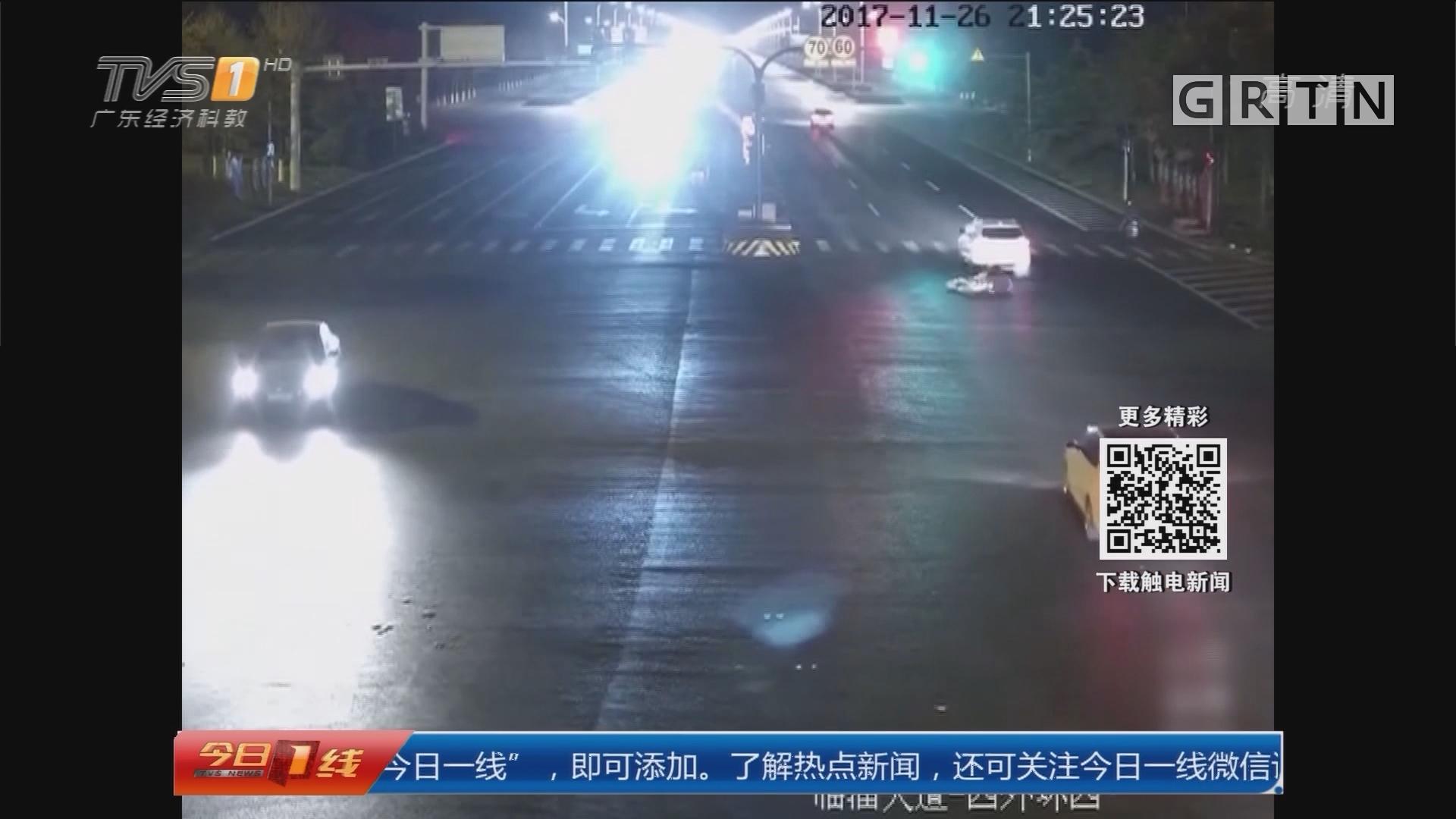 山东淄博:肇事逃逸装好人 监控还原真相
