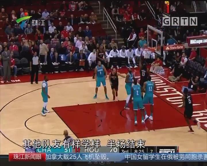 NBA:万箭齐发 火箭轻取黄蜂
