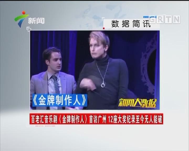 百老汇音乐剧《金牌制作人》首访广州 12座大奖纪录至今无人能破