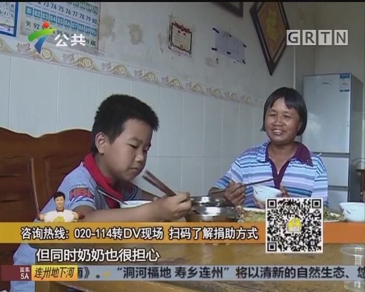 刘德明:陪奶奶一起工作 长大想当科学家