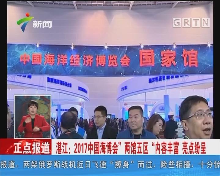"""湛江:2017中国海博会""""两馆五区""""内容丰富 亮点纷呈"""