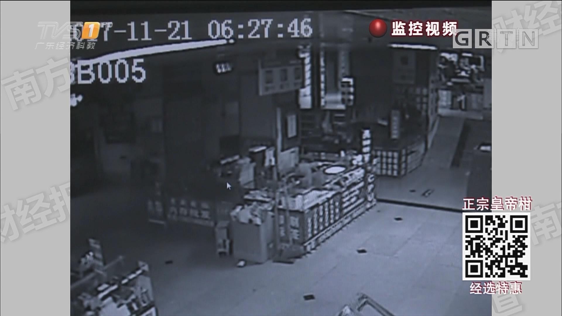 """深圳:华强北""""鼓上蚤"""" 一夜连偷4商场"""