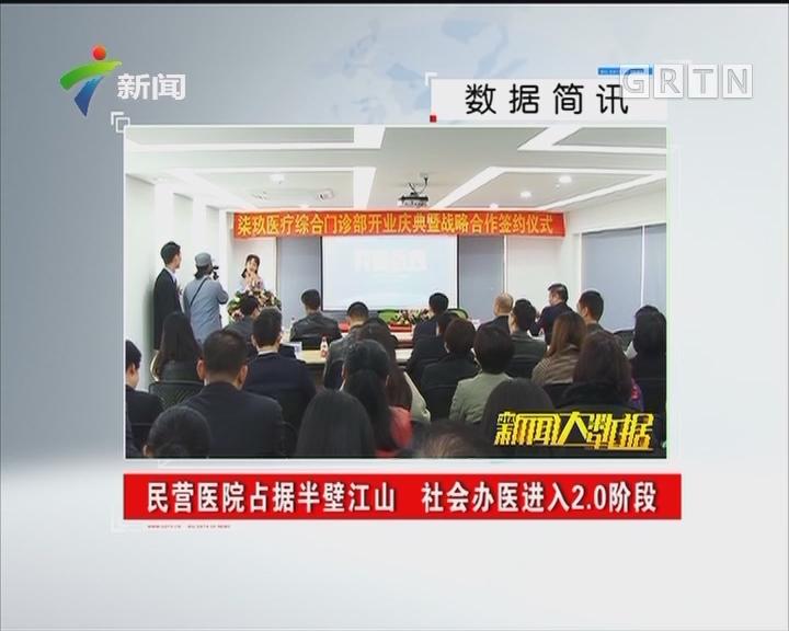 民营医院占据半壁江山 社会办医进入2.0阶段