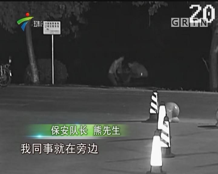 广州荔湾女子凌晨河上漂浮