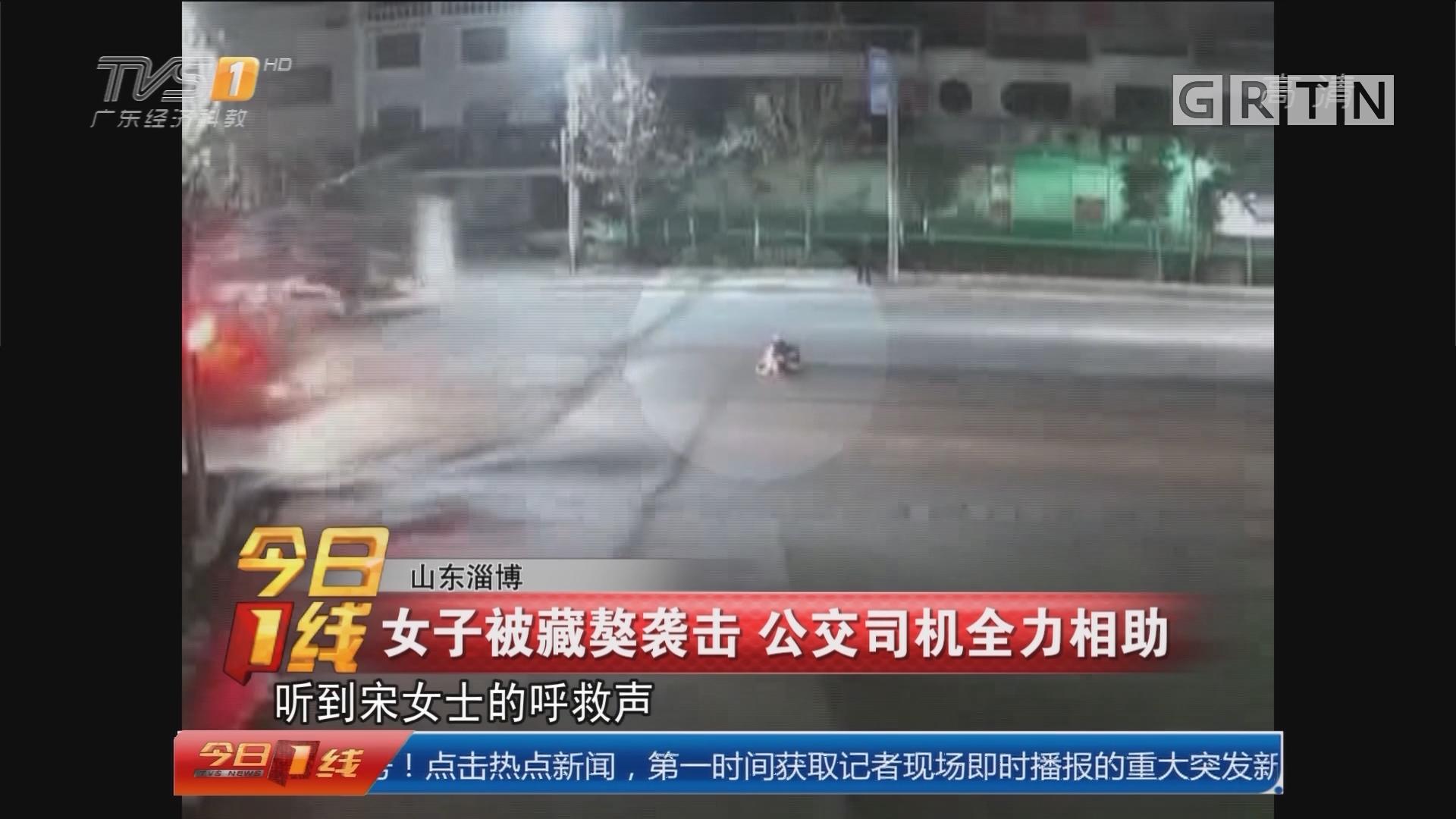 女子被藏獒袭击 公交司机全力相助