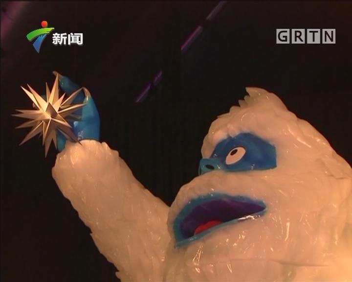 美国冰雕展打造晶莹剔透冰上乐园