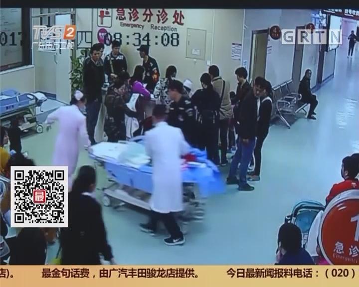 深圳:产妇自家车上产女 医生紧急施救保平安