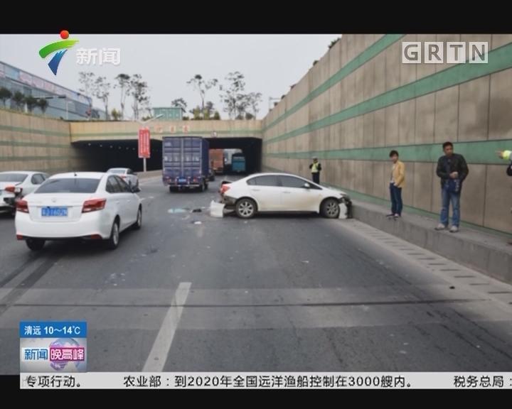 """江门:男子""""隔夜酒驾""""酿四车碰撞事故"""