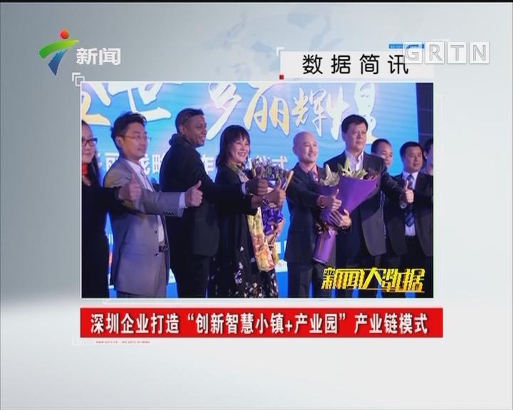 """深圳企业打造""""创新智慧小镇+产业园""""产业链模式"""