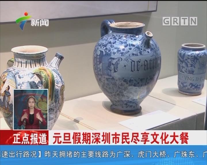 元旦假期深圳市民尽享文化大餐