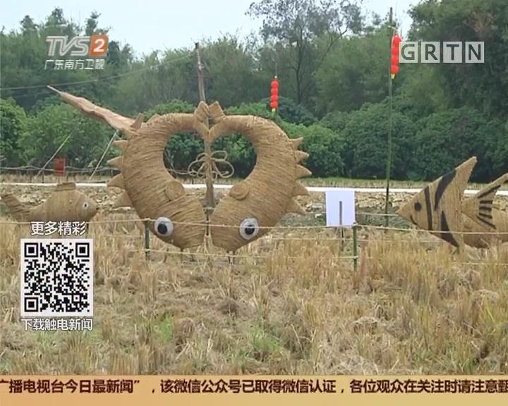广州从化:稻草节即将开幕 展现农耕文化