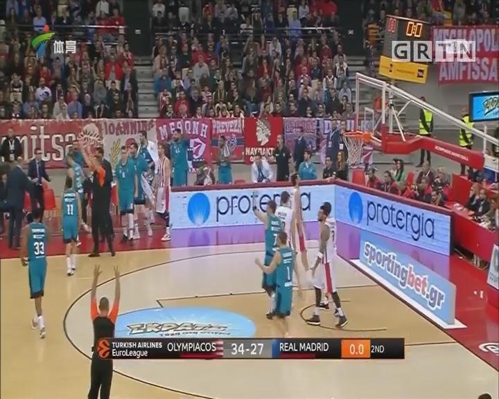 欧冠篮球 奥林匹亚科斯、费内巴切双双大胜
