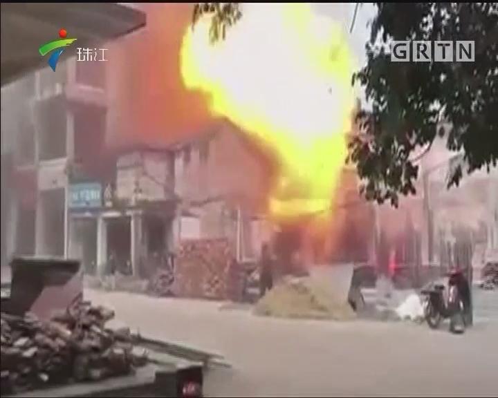 花都:险!燃气服务部爆炸 老年之家近在咫尺