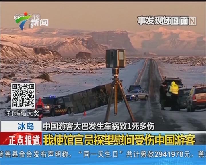 冰岛:2名重伤中国游客仍处于重症监护
